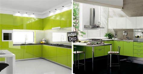 la cuisine verte marier le vert dans la cuisine voici 16 id 233 es laissez