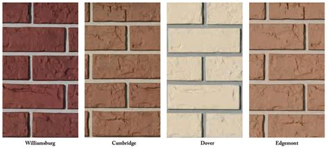 Which Is Better Brick Or Vinyl Siding - exteria laid brick siding like real brick and better