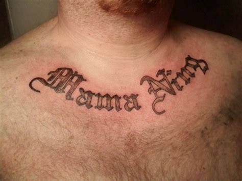 lettering tattoos for men 35 abstract neck letters