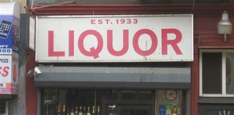 liquor signs new york s coolest vintage liquor store signs ephemeral