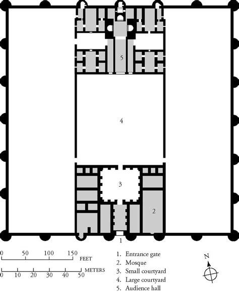 floor plan of a mosque typical mosque floor plan architecture pinterest