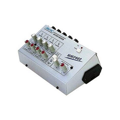 Mixer Audio Line mm 2402 8 channel line mixer