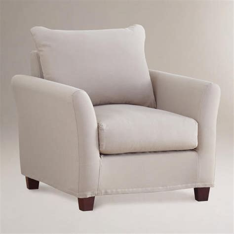 Accent Chair Slipcover One Of My Favorite Discoveries At Worldmarket Luxe Chair Slipcover Khaki Accent Chairs