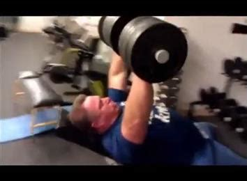 world record incline bench press heaviest dumbbell inclined bench press athlete over 45