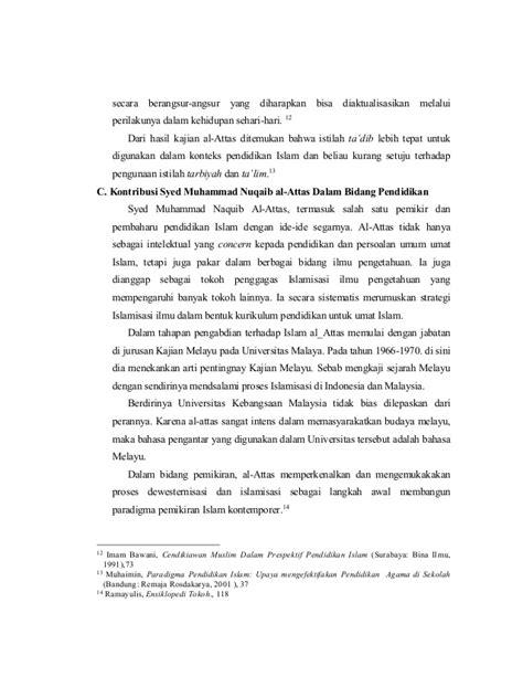 Revitalisasi Pendidikan Islam Syamsul Maarif Graha Ilmu konsep pendidikan syed nuqaib al attas