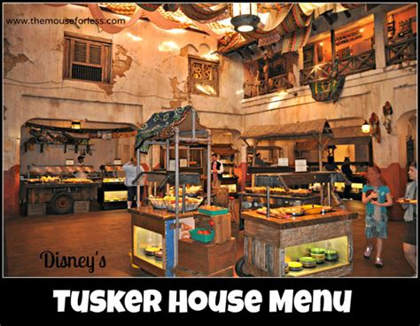 tusker house disney tusker house menu disney s animal kingdom at walt disney world