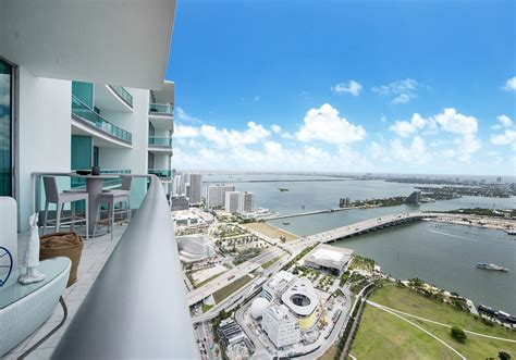 from biscayne bay to downtown miami a stunning home by just listed 900 biscayne bay penthouse 6103 offered at
