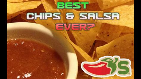 chilis chips salsa review  youtube