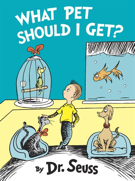 getting books new dr seuss book what pet should i get found in a box