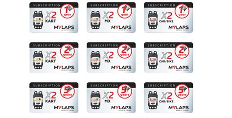 Gift Card Subscription - subscription cards for transponders mylaps sports timing