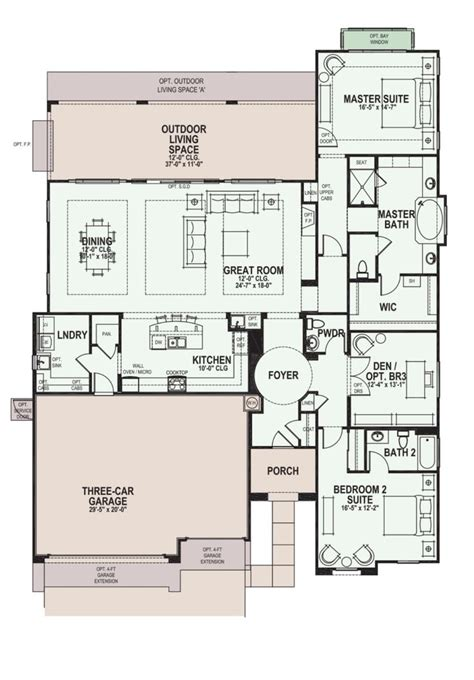 robson ranch floor plans robson ranch villa floor plans floor matttroy