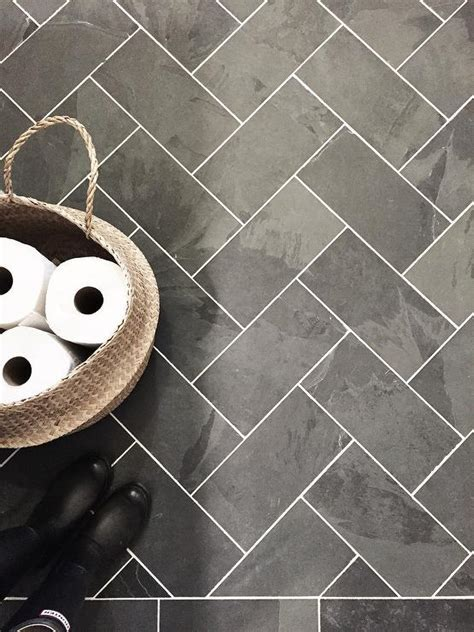 Easy To Clean For Laundry Room Features Black Slate