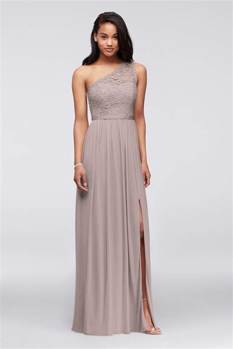 Dress Cammeo 1 one shoulder lace bridesmaid dress style f17063 ebay