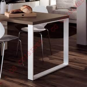 pied de table cuisine pied de table rectangulaire h71 achat vente de pieds et supports pour cuisine