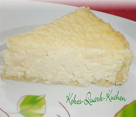 quark kokos kuchen kokos quark kuchen rezept mit bild tina0608