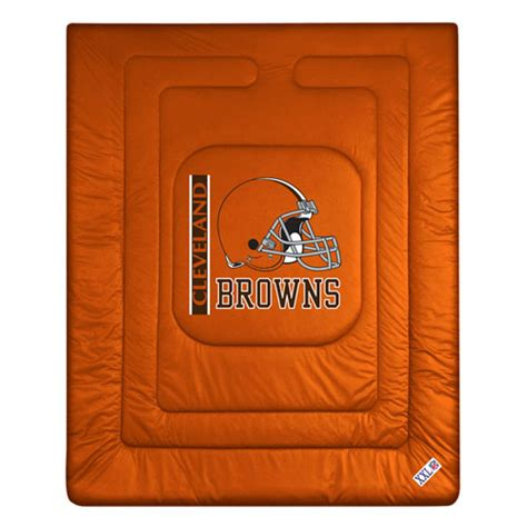 cleveland browns comforter cleveland browns locker room comforter sheet set