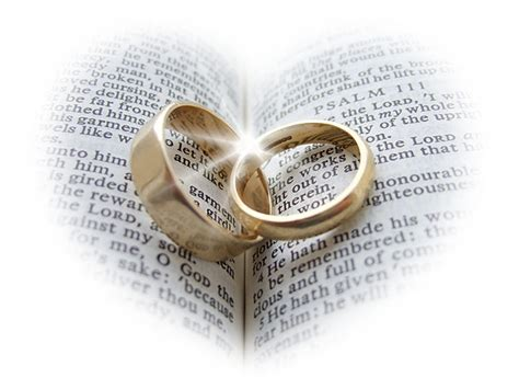 Wedding Rings On Bible by Wedding Rings And Bible Canvas Prints Wall For Sale