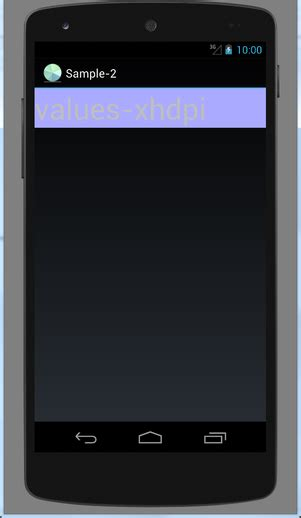 android layout xxhdpi android xxhdpi devices with the screen height of 640 dp