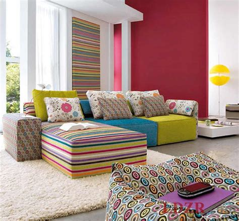 colorful home decor colorful apartment living room decor home design and ideas