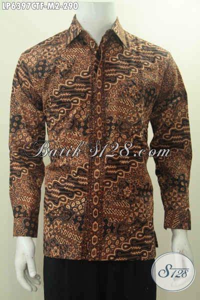 Kemeja Furing Batik Kombinasi Tulis Dan Cap 49 kemeja batik lengan panjang furing proses cap tulis motif mewah halus buatan untuk