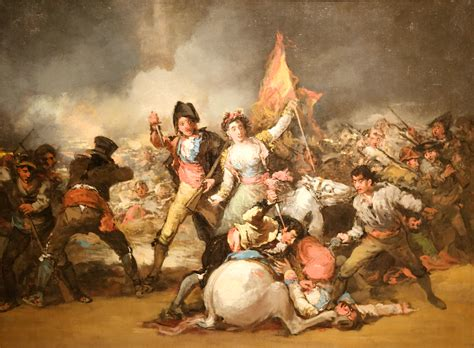 ba art goya espagnol file eugenio lucas vel 225 zquez the second of may 1808 jpg wikimedia commons