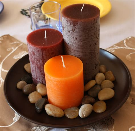 how to decorate candles at home autumn candles new autumn interior design idea for 2010