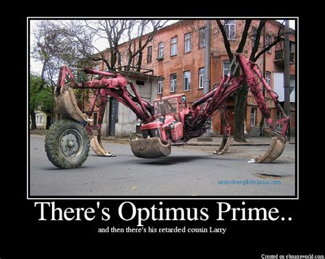 There S Optimus Prime Picture Ebaum S World Sofa King Retarded Joke