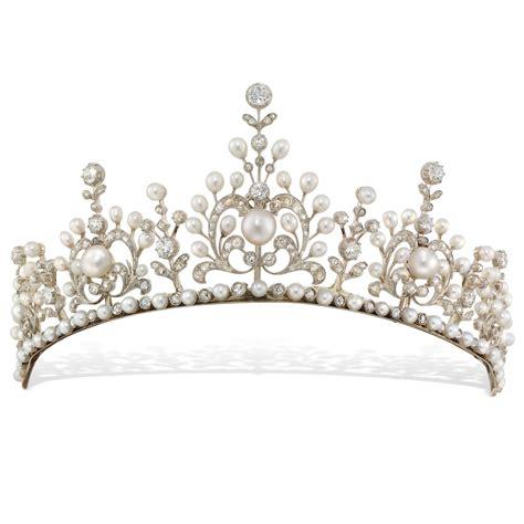 C Tiara late pearl and tiara bentley