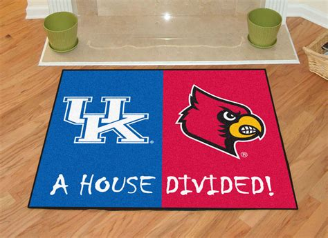rugs louisville ky kentucky louisville area rug 34 quot x 44 quot house divided mat