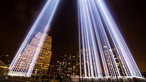 in lights 9 11 tribute in light