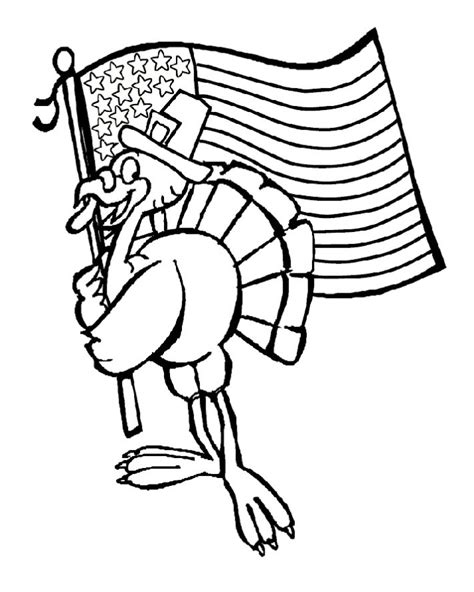turkey flag free coloring pages