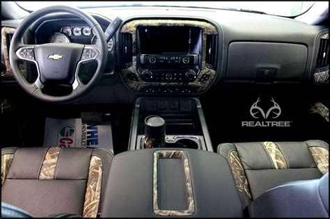 Truck Accessories Interior by Chevy Truck With Realtree Max5 Interior Realtreemax5