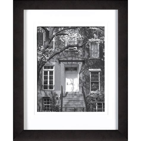 11 X 15 Matted Frame by Gallery Solutions 11 X 14 Black Frame Matted To 8 X 10