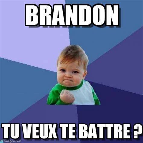 Brandon Meme - brandon success kid meme on memegen