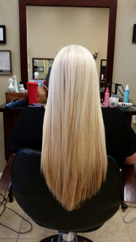 how to shape hair at ends long layers v shape ozlem hair spa pinterest
