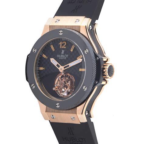 Hublot King Bigbang Tourbillon Leather Automatic 2 hublot big tourbillon watches