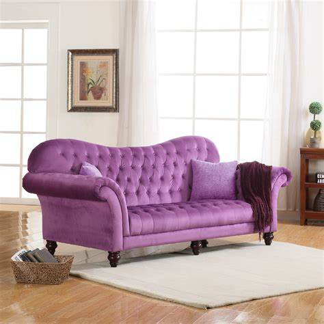 purple tufted sofa new 28 purple tufted sofa 4pc romania purple velvet