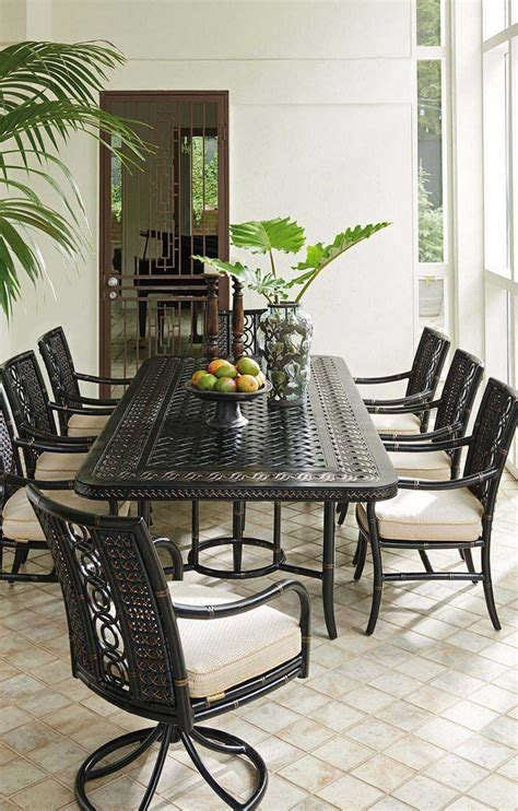 bahama outdoor dining set bahama outdoor marimba wicker dining set mrmbdin4