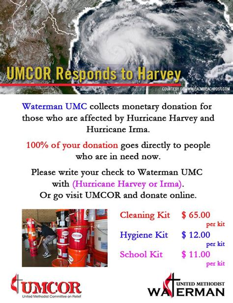 hurricane irma donations hurrican harvey or hurricane irma monetary donations