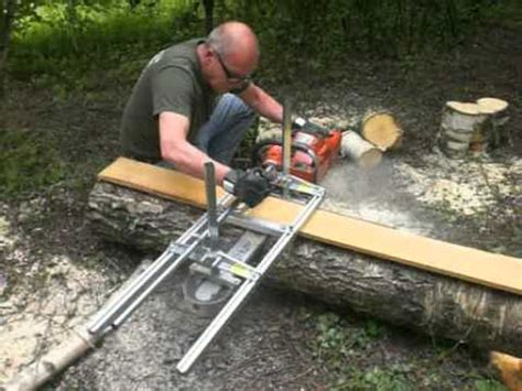 greens mill woodworks planken zagen met de alaskan mkiii chain saw mill en de