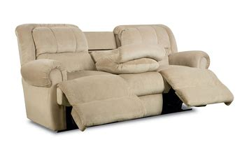 reclining sofa with fold table reclining sofa w fold tray table by