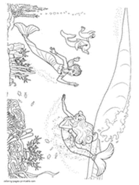 Barbie The Pearl Princess Coloring Pages Pearl Princess Coloring Pages