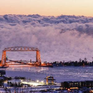 duluth sea smoke duluth photographer s dramatic shot of lake superior sea