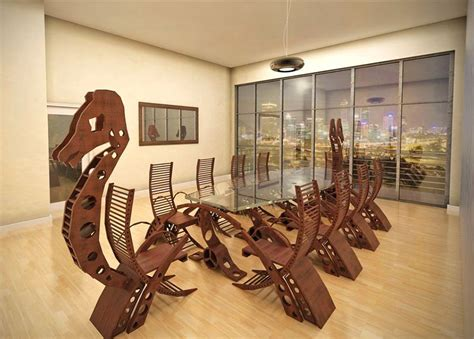 Earth Contact Home Designs this viking conference table will turn your meeting into a