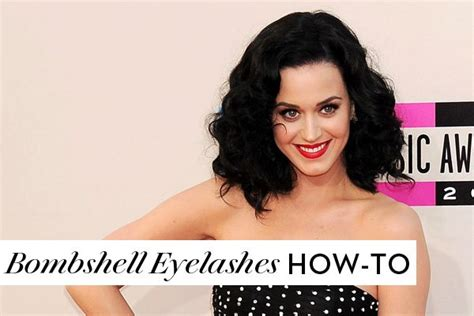 Get A Like A Bombshell by How To Get Bombshell Eyelashes Just Like Katy Perry