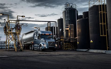 volvo truck factory wallpapers 4k volvo vnl 740 2017 trucks
