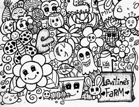 doodle yang bagus gambar doodle karakter lucu dan keren gambar co id