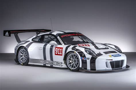 porsche cars 2016 2016 porsche 911 gt3 r race car revealed