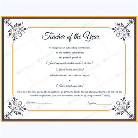 classroom certificates templates award certificate template sle common stock