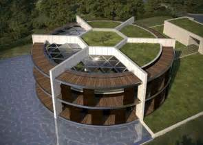 haus messi provided sustainable eco house in the form of football for